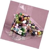 """50 Crystal Clear Cello  Gusset Bags   4"""" x 2"""" x8"""