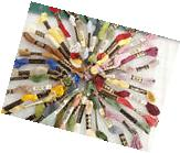 50 SKEINS OF 6 STRAND DMC EMBROIDERY FLOSS I PICK ALL