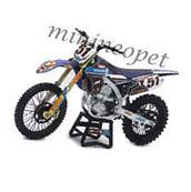 NEW RAY 57713 MOTOCROSS JGR YAMAHA YZ 450F DIRT BIKE #51 1/