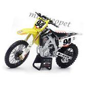 NEW RAY 57747 SUZUKI RM-Z 450 #94 DIRT BIKE MOTORCYCLE 1/12