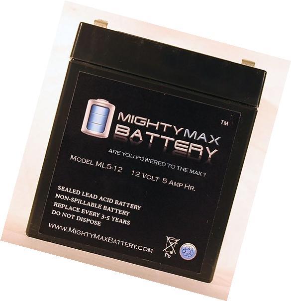Mighty Max Battery ML5-12 - 12V 5AH SLA Battery for Casil