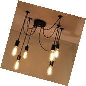 6 Heads Vintage Edison Style Industrial Retro Ceiling Lights