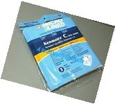 6 KENMORE VACUUM BAGS STYLE 5055 50557 50558 Q, C, Panasonic