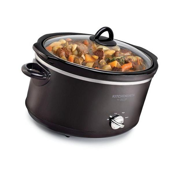 NEW! HAMILTON BEACH 6 QT OVAL SLOW COOKER CROCK POT WITH 1