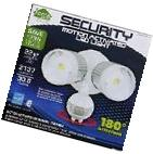 Home Zone 64321 LED Outdoor Security Floodlight with Dusk to