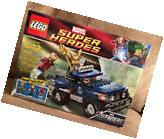 Lego 6867 Marvel Super Heroes Loki's Cosmic Cube Escape NEW