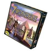 7 Wonders  Board Game Asmodee Repos New,Free Shipping