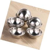 8*Healthy Home Helper Stainless Steel Bath Bomb Molds 4*6.