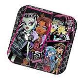 "8 Monster High Children's Birthday Party 9"" Square Paper"
