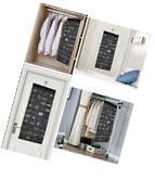 80 Pocket Hanging Jewelry and Accessory Organizer Storage