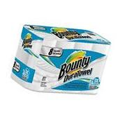 Bounty 84890 DuraTowel 2-Ply Kitchen Paper Towel Rolls, 8