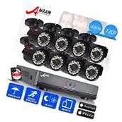 ANRAN 1080N HD 8CH HDMI DVR Outdoor Day & Night Home Security Camera System 1TB