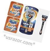 *9 FLEX BALL Gillette FUSION Razor Blades Cartridges Refills