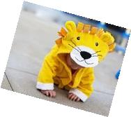 Baby-Steps, Yellow Lion Hooded Bathrobe and Towel, 0-12