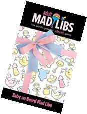 Baby on Board Mad Libs