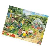 Bits and Pieces - 1000 Piece Jigsaw Puzzle - Gardening with