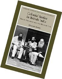 Colonial Justice in British India White Violence and the