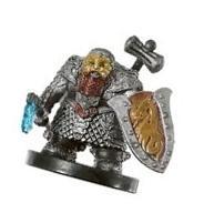 D & D Minis: Tordek, Dwarf Champion # 8 - War of the Dragon