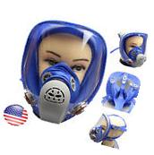 For 3M 6800 Silicone Gas Mask Full Face Facepiece Respirator