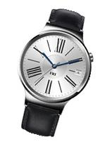 Huawei - Smartwatch 42mm Stainless Steel - Silver Leather