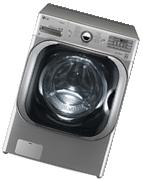 Lg - 5.2 Cu. Ft. 14-cycle High-efficiency Steam Front-