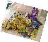 Lot Of 100+ Crystal Light And 4C Sugar Free Drink Mix Packs~