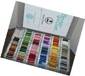 Lot of 125+ Skeins Cards DMC Embroidery Floss Thread