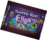 NEW - Easter TOOTSIE ROLL Candy Coated Egg Shaped Tootsie