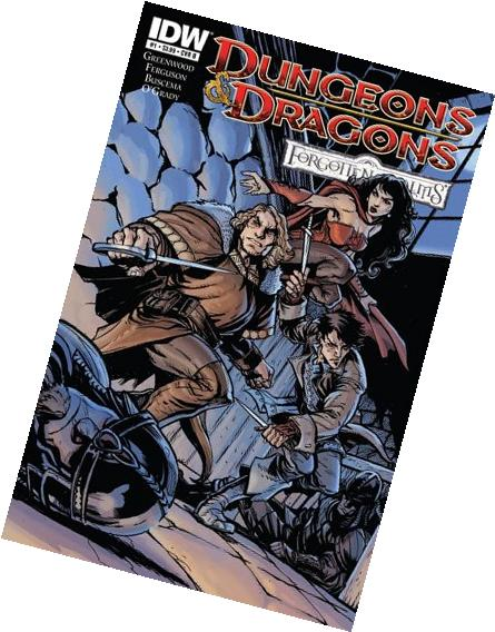 Dungeons & Dragons Forgotten Realms #1 Variant Cover B