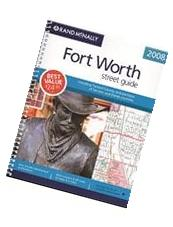 Rand McNally 2008 Fort Worth Street Guide