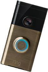 Ring - Video Doorbell - Antique Brass