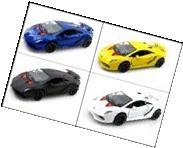 Set of 4: 1:38 SCALE DIE CAST LAMBORGHINI SESTO ELEMENTO by