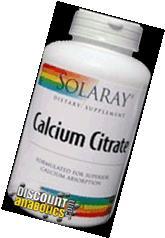Solaray - Calcium Citrate Complex, 1000 mg, 240 capsules
