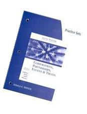 South-Western Federal Taxation: Corp.. 2013 - Practice Set