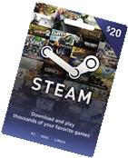 Valve - Steam Wallet Card  - Multi
