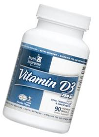 Vital Nutrients - Vitamin D3 2000 IU - 90 Vegetarian
