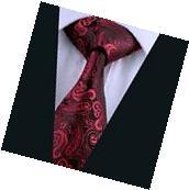 A-314 New Classic Men's Tie 100% Jacquard Woven Silk Ties