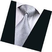 A-484 New Classic Men's Tie 100% Jacquard Woven Silk Ties
