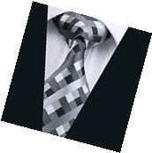 A-577 New Classic Men's Tie 100% Jacquard Woven Silk Ties