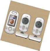 A Brand New -VM312-2 Safe & Sound-Video-Baby-Monitor with 2