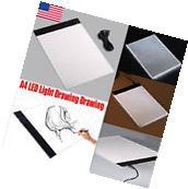 NEW Hot A4 LED Artist Thin Art Stencil Board Light Box