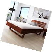 Acacia Wood Wooden Bed Frame Bedroom Furniture King Size