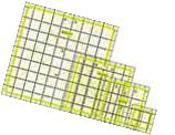 Acrylic Quilting Quilter's Ruler Combo Pack of 4