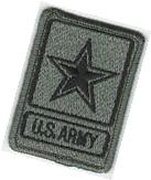 ACU Foliage Green Black US United States Army of One Star