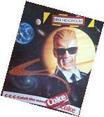 """AD POSTER~Max Headroom Coca Cola Coke Classic 1980's 17x14"""""""