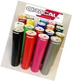 "5 Rolls 24"" X 10 ft Oracal 651 Sign Cutting Vinyl  Made in"