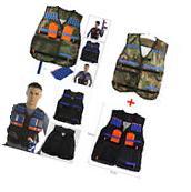 Adjustable Tactical Vest with Storage Pockets for Nerf N-