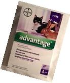 ADVANTAGE purple 4 pack for large cats or rabbits more than