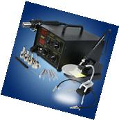 Digital Hot Air Gun Rework Soldering Iron Station 852D+