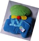 Stephen Joseph Airplane Nap Mat w/attached Blanket &